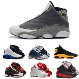 pretty nice 2171d ad597 Top Quality 13 13s Men HYPER ROYAL MELO CLASS OF 2002 Atmosphere Grey He  Got Game Basketball Shoes Flints Athletics Sneakers Sports With Box