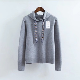 $enCountryForm.capitalKeyWord Australia - 2019 Spring New Pattern Suit-dress Even Hat Pullover Jewellery Bring Diamond Ornaments Knitting Easy Sweater Woman