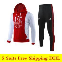 $enCountryForm.capitalKeyWord Australia - 19 20 New Ajax Jacket Hoodies coat 2019 2020 Ajax FC soccer tracksuits NERES TADIC VAN DE BEEK ZIYECH long sleeve training suit