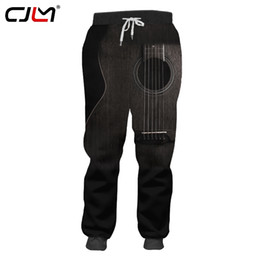 printed sport trousers NZ - CJLM Guitar Art Musical Instrument Summer 3D Full Printing Fashion Sweatpants Print Style Fitness Casual Loose Sports Trousers