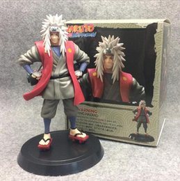 action figure stands NZ - Anime Naruto Jiraiya Standing Ver. PVC Action Figure Naruto's Teacher Gama Sennin Jiraiya Collectible Model Toy 19cm