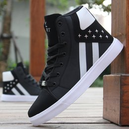Discount man warmer shoes for winter - 2019 Hot Men Shoes Fashion Warm Fur Winter Men Boots Autumn Leather Footwear For Man New High Top Canvas Casual Shoes