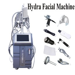 Spa Stand online shopping - Standing In Hydra Facial Water Dermabrasion Machine Microdermabrasion Water Peeling Hydrafacial SPA Skin Care Equipment