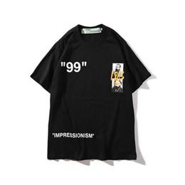2019 New Doodle slogan hommes et femmes couple t-shirt à manches courtes col rond T-shirt Womens Clothes Size avec M-2XL mens designer de vêtements en Solde
