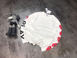$enCountryForm.capitalKeyWord Australia - 19ss Summer Street wear Europe Love mark Paris Fashion Men High Quality Big Broken Hole Cotton Tshirt Casual Women Tee T-shirt