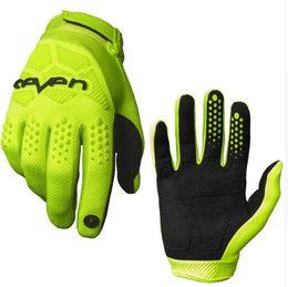 Black Yellow Bicycle Gloves Australia - BMX Motocross AM Bike Gloves MTB Mountain Bike Moto Motorcycle DH Cycling Bicycle Gloves Motorcycle Motocross Gloves