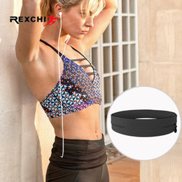 Waist running elastic belt online shopping - REXCHI Ultralight Running Belt for Men Women Sports Waist Bag Elastic Phone Holder Pack Hiding Anti thief Sport Accessories