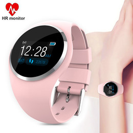 Smart App Watch Australia - Fitness Smart Watch Women Heart Rate Monitor Blood Pressure Running Sport Watch For Woman Smartwatch APP Support For Android IOS