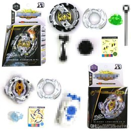 $enCountryForm.capitalKeyWord Canada - Hot Spinning Tops Bay blade Burst B106 B110 With Launcher And Original Box Metal Plastic Fusion 4D Gift Toys For Kids