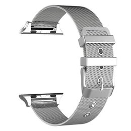$enCountryForm.capitalKeyWord Australia - sliver 3 Colors Stainless Steel Strap for Apple Watch 2 specification 42mm 38mm Smart Metal Bracelet Wristband For iWatch Series 1 2 3