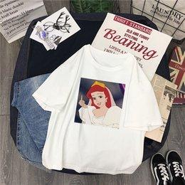 $enCountryForm.capitalKeyWord Australia - Summer Spoof Fun New Snow White tees Short Sleeve O-neck Cartoon Casual Tops Female Harajuku Funny Shirt
