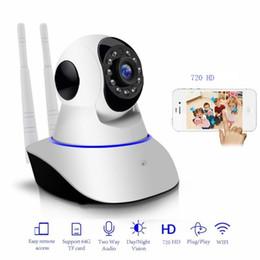 Outdoor Hd Onvif Wifi Camera Australia - HD 720P Wifi IP Camera Onvif 1.0MP P2P CCTV Baby Monitor Night Vision Yoosee APP