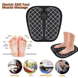 electro muscle stimulation machines NZ - New Foot Electro Stimulation Electric Shock Therapy EMS Massager Machine For Promoting Blood Circulation Relaxing Pressure Muscle Pain Relif