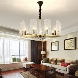 $enCountryForm.capitalKeyWord UK - USA STYL CLEAR CRYSTAL GLASS CHANDELIER FOR LIVING ROOM POST MODERN CRYSTAL CHANDELIER CYSTAL LAMP FOR HOME DINING ROOM LIGHTING