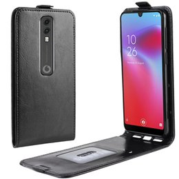 vodafone smart UK - Crazy Horse Vertical Flip Leather Protective Case for Vodafone Smart V10   VFD 730