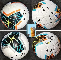 new 19 20 Best quality Club Serie A Soccer ball 2019 2020 size 5 balls granules slip-resistant football Free shipping high quality ball on Sale