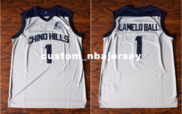 Cheap custom LaMelo Ball  1 Chino Hill Basketball Stitched Jersey High School  White Stitch customize any number name MEN WOMEN YOUTH XS-5XL 502aface3