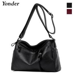 Discount highest quality wine - Yonder women bag fashion women messenger bag female high quality shoulder crossbody bags ladies designer handbag red win