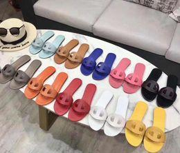 $enCountryForm.capitalKeyWord Australia - 2019 HOT New Designer Luxury Designer Women Fashion Pearl Sandals lady Slippers Summer Pig nose Casual Slippers Flip Flops flat sandy kk11
