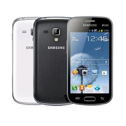 Discount refurbished phones - Refurbished Original Samsung S7572 S7562I GALAXY Trend Duos II 3G WCDMA 4.0Inch Screen Android WIFI Cell phone