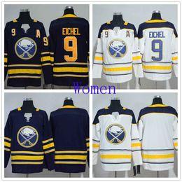 $enCountryForm.capitalKeyWord Australia - Buffalo Sabres Women 9 Jack Eichel Navy Blue Home NHL Jersey Blank White Road 100% Stitched Ice Hockey Jerseys