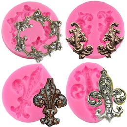 $enCountryForm.capitalKeyWord Australia - Baroque Scroll Relief Cake Border Silicone Mold Fondant Chocolate Candy Gumpaste Molds Cupcake DIY Wedding Cake Decorating Tools