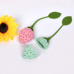 Chinese  New Arrival Grape Shape Tea Strainer Teapot Silicone Tea Infuser Filter Teapot for Tea & Coffee Filter Drink Color Random manufacturers