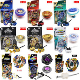 TOP 4D spinning Beyblade Burst With Launcher Kids Boys Toy Starter Zeno Excalibur .M.I (Xeno Xcalibur) Bables Toys on Sale