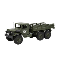 toy trucks for boys Australia - 1:16 simulation 6wheel 6 drive climbing car military model Electric RC truck toy for children boys