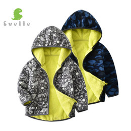 $enCountryForm.capitalKeyWord NZ - SVELTE Fall Winter for Children Boys' Thick Fur Soft Fleece Gray Graffiti Hoody Printed Blue Camo Hooded Jacket Coat Clothing