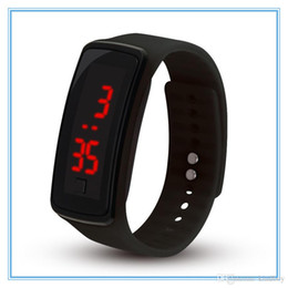 $enCountryForm.capitalKeyWord Australia - Fashion Sport LED Watches Candy Jelly men women Silicone Rubber Touch Screen Digital Watches Bracelet Wrist watch