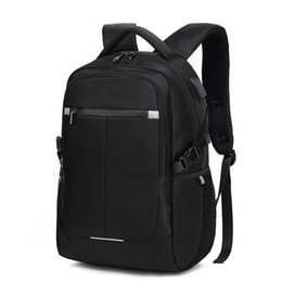 Discount mens designer travel bags Pack Business Waterproof Travel Mens Male Backpacks Inch Notebook Laptop 15.6 USB Back Charging Bags Backpack Bagpack Hmmns