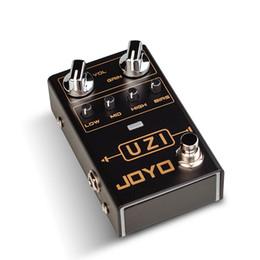 Pedal effect joyo online shopping - JOYO R UZI Heavy Metal Guitar Effect Processor High Gain American British Distortion Electric Guitar Monoblock Effect Pedal microphone