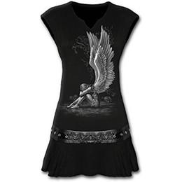 $enCountryForm.capitalKeyWord UK - Spiral - Womens - ENSLAVED ANGEL Stud Waist Mini Dress Black