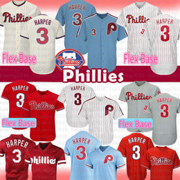 3 Bryce Harper Jersey Philadelphia Phillies Flex Base para hombre 3 Harper  Mesh Retro Majestic Alternativo Oficial Cool Base Player Camisetas de  béisbol ed1e49cbb3a