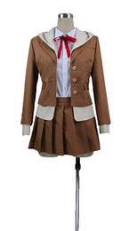 Wholesale nanami cosplay resale online - Danganronpa Nanami ChiaKi High School Level Gamer Outfit Dress Cosplay Costume