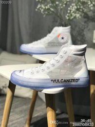 best x art 2019 - Best Quality Running Shoes White x Chuck 1970s OW mens Sports Shoes Men Women Luxury brand Designer Sneakers size 36-45