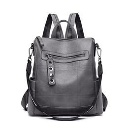 $enCountryForm.capitalKeyWord UK - 5 Colors Backpacks Women Leather Backpacks Female School BagS for Teenager Girls Travel Back Bag Retro Bagpack