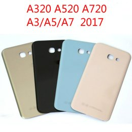 Galaxy A3 Housing Australia - For SAMSUNG Galaxy A3 A5 A7 2017 Back Battery Glass Cover A320 A520 A720 Rear Door Housing Case Replacement A320F A520F