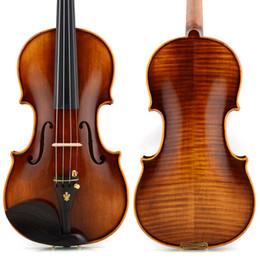 Musical Instruments Acoustic Australia - Italian christina V05B handmade professional wood violin4 4 luthier stradivarius musical instruments 4 4 Grading violin