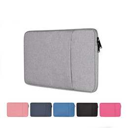 $enCountryForm.capitalKeyWord UK - Laptop Sleeve Bag Water Repellent Polyester Protective Case Cover with Pocket