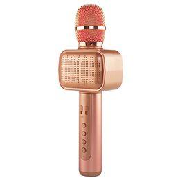 $enCountryForm.capitalKeyWord Australia - Excelvan Wireless Microphone Bluetooth Speaker Portable Music Player Home KTV Music Player With Disco Light For Birthday Party