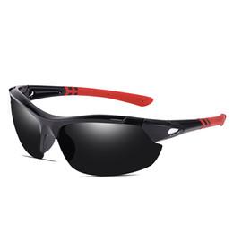 Sunglasses Sports Motorcycle Australia - Brand designer outdoor sports polarized sunglasses men's sports riding sunglasses motorcycle glasses unisex riding sunglasses riding glasses