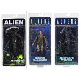 $enCountryForm.capitalKeyWord NZ - model toy NECA ALIEN Xenomorph Warrior Sergeant Craig Windrix PVC Action Figure Collectible Model Toy 19cm