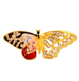 $enCountryForm.capitalKeyWord UK - 2019 European and American fashion new exquisite small insect brooch oil drop butterfly brooch free shipping
