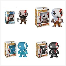 toys kratos Canada - Funko POP figurines God of War Kratos PVC Model Collection Gift Toys Action Figures Kids Boy Toy Children #25