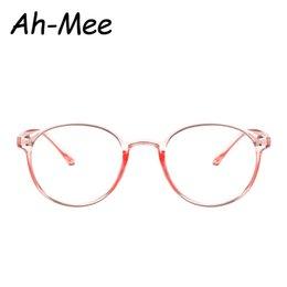 578423222fcf3 Vintage Oval Clear Glasses Frames para Mujeres Marco Claro Gafas Redondas  de Plástico Transparente Óptico Marco de Lentes