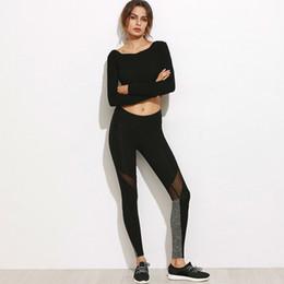 $enCountryForm.capitalKeyWord UK - Mesh Leggings Women Sexy Push Up Black Polyester Leggings Athleisure High Waist Sportswear Mesh Jeggings For Girl