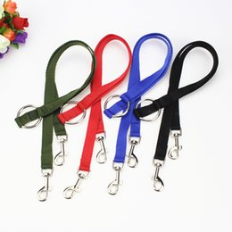 nylon double dog leash Australia - Pet Dog Traction Rope Nylon Double Ended Hook Doggy Leashes Multi Functional Police Style Dogs Leash For Outdoors 1 8dg E1