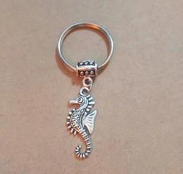 Trendy Silver Chains For Men Australia - 2pcs lot Octopus keychain Ancient Silver Key ring For Bag Key Holder Charm pendant Car Chains Ring Women & Men
